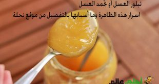 تبلور العسل, تجمد العسل ,اسرار العسل, العسل , العسل الاصلي, أسباب تبلور العسل, موقع نحلة