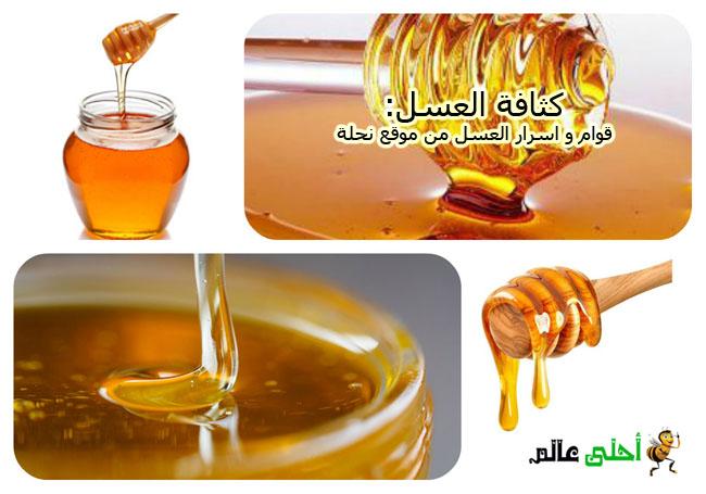 كثافة العسل و قوامه من اسرار العسل موقع نحلة احلى عالم