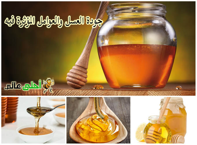 جودة العسل ,العوامل المؤثرة في العسل, العسل, عسل , نحلة أحلى عالم, موقع نحلة, انواع العسل, العلسل الصافي, افضل عسل, الاعسال, احلى عالم
