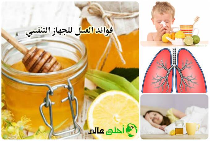 فوائد العسل للجهاز التنفسي